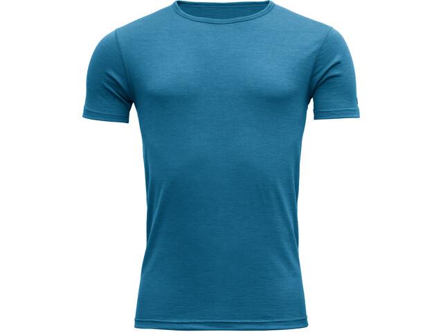 Devold Breeze Camiseta Hombre, blue melange